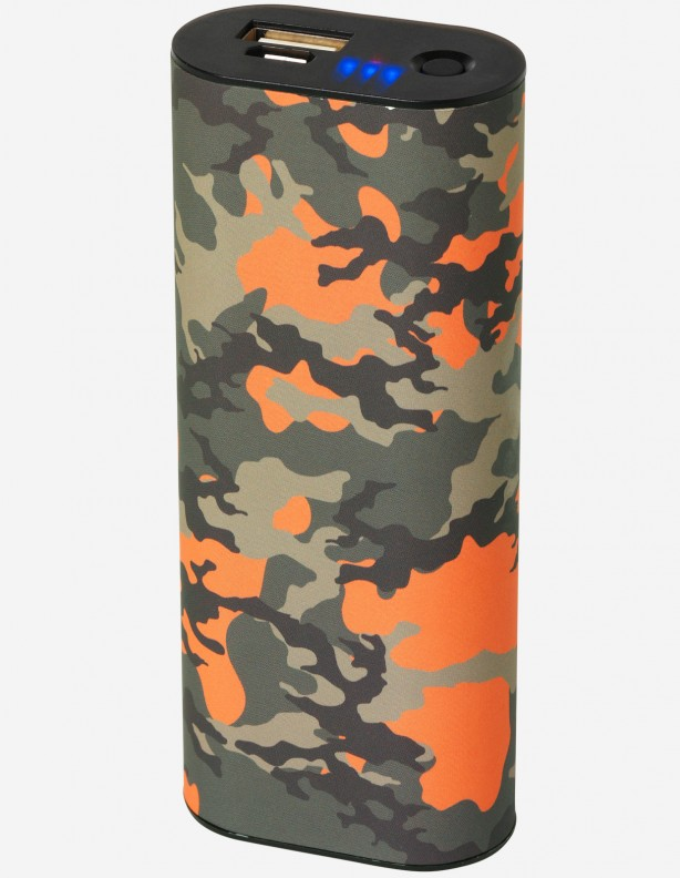 Ogrzewacz do rąk camo / power bank 5000 mAh
